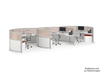 Orbit Open Plan Workstations