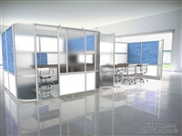 Alterna Private Office with Sliding Door