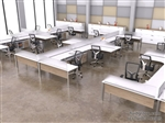 Edge Desking Open Plan Workstations
