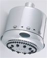 Jaclo S139 Frescia Multifunction Shower Head with Light Grey Face and Nebulizing Mist®