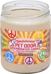 Pet Odor Exterminator Candle - Sandalwood