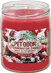 Pet Odor Exterminator Candle - Sugared Cranberry