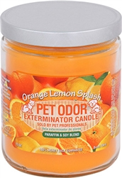 Pet Odor Exterminator Candle - Orange Lemon Splash