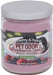 Pet Odor Exterminator Candle - Mulberry & Spice