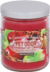 Pet Odor Exterminator Candle - Cinnamon Apple