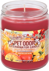 Pet Odor Exterminator Candle - Apple Pumpkin