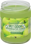 Pet Odor Exterminator Candle - Granny Smith