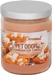 Pet Odor Exterminator Candle - Salted Caramel