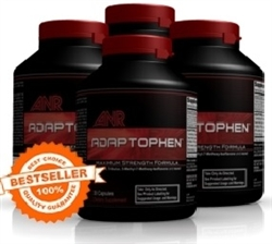 Our Bestselling Adaptophen 4-Bottle Package: You Get 1 FREE Bottle