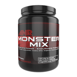 Monster Mix Protein Powder - Muscle Building Sports Nutrition - www.teamanr.com