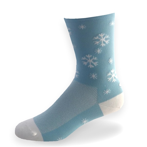 "Snowflake (light blue) | 6"" Eco-Solemax"