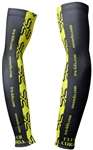 Club Corsa - Arm Warmers - Logo - Black/Lime
