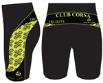 Club Corsa - Bib Shorts - Logo - Black/Lime