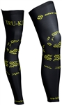 Club Corsa - Leg Warmers - Logo - Black/Lime