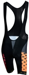 Sport Corsa - Bib Shorts - Dots - Orange/Red