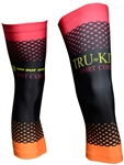 Sport Corsa - Knee Warmers - Dots - Orange/Red