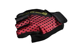Sport Corsa - Short Gloves - Dots - Orange/Red