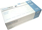 NitriSkin™ Nitrile Disposable Gloves, Powder-Free (Blue) (MG600)