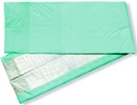 Night Dry Underpads, 30X36, Heavy Fluff with Polymer, Green Backing (EXUG3036)