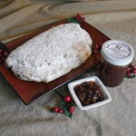 Bob Sendall's Holiday Stollen and Sour Cherry Jam Gift Pack