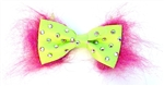 MINI LIME GREEN BOWTIE
