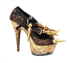 GOLD DIGGER PUMPS