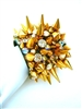 GOLD SPIKE CUFF HARD