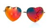 ESTRELLA HEART SHAPED SUNGLASSES