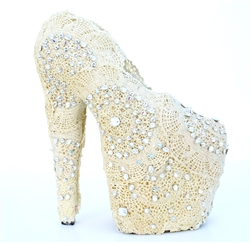LADY LACE PUMP