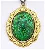 IMPERIAL GREEN OPAL NECKLACE