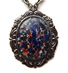 BLACK GLOSS OPAL #1 NECKLACE