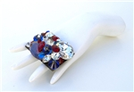 AMERICAN WOMAN SQUARE RING