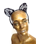 COBRA COUNTESS KITTY EARS HEADBAND