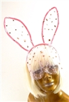 ROMANTICA LACE BUNNY EARS HEADBAND