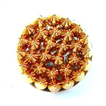BULLSEYE GOLD SPIKE RING