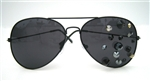 BLACK CAVIAR AVIATORS