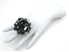 BLACK CAVIAR XL BAUBLE RING
