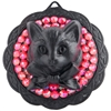 BABY'S ON FIRE FLAT MEDALLION BLACK LARGE KITTY MEDALLION