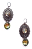 PONDEROSA COWBOYS OF CALICO CONCHO EARRINGS