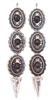 PONDEROSA LONGMIRE LONEWOLF CONCHO EARRINGS
