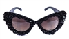 DEVILS TONGUE CAT'S MEOW GLASSES
