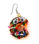 SWEET 16 CHOCOLATE DONUT EARRING