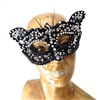 BLACK CAVIAR KITTY MASK