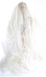 DOLLY WHITE CREAM TULLE VEIL