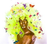 BUTTERFLY EMPIRE TULLE HEADPIECE
