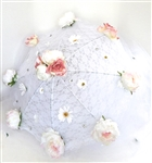 DUCHESS PEONY LACE TULLE PARASOLE