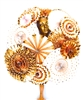 GOLDEN GARDEN PARTY HEADPIECE