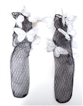 WHITE BUTTERFLY SOCKS
