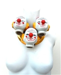 CLOWN TRIPLET COLLAR