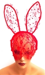 RED BUNNY EARS